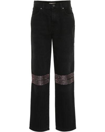 Прямые джинсы mom розовый Christopher Kane