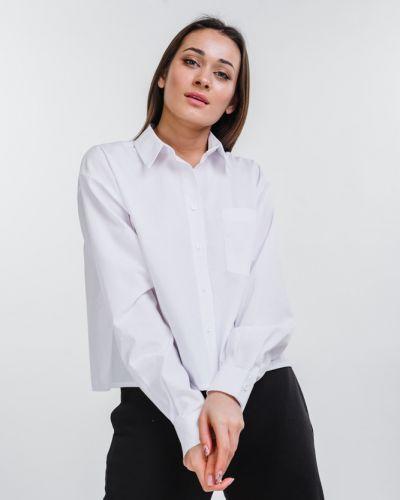 Рубашка оверсайз - белая Arjen