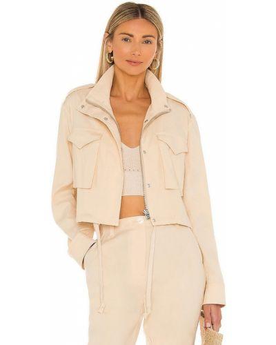 Бежевая куртка на молнии с карманами Rag & Bone