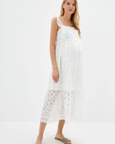 Белый сарафан для беременных Dorothy Perkins Maternity