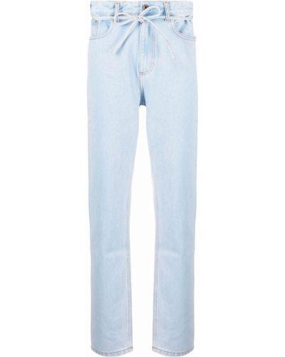 С завышенной талией прямые джинсы классические с карманами Y Project