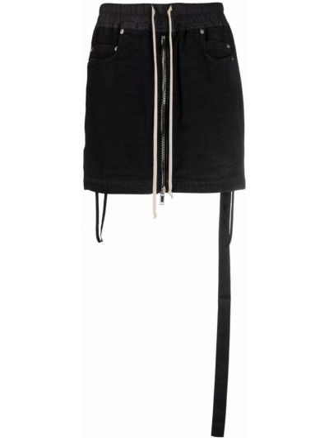 Юбка с карманами - черная Rick Owens Drkshdw