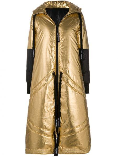 Пальто двустороннее золотое Just Cavalli