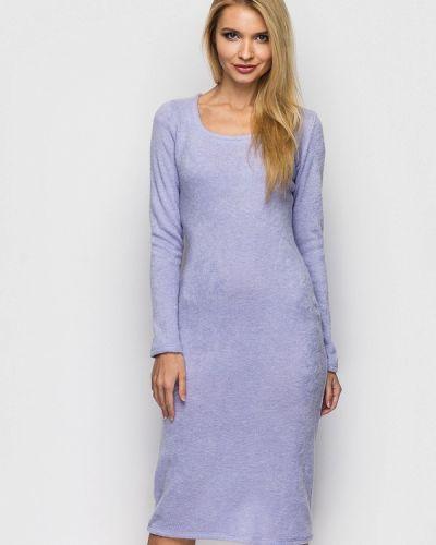 Фиолетовое платье миди Helenka