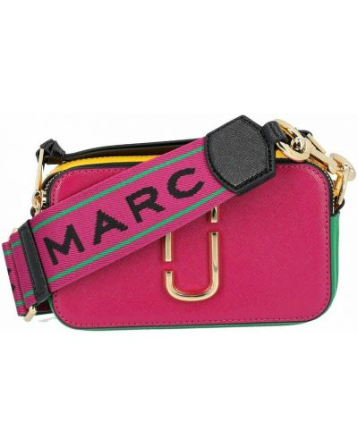 Torebka skórzana - różowa Marc Jacobs