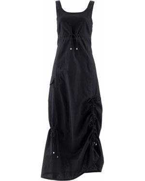 Платье макси с поясом ампир Bonprix