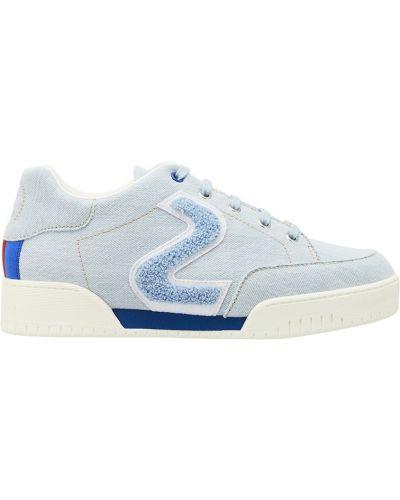 Голубые кроссовки Stella Mccartney