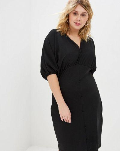 Повседневное платье черное Lost Ink Plus