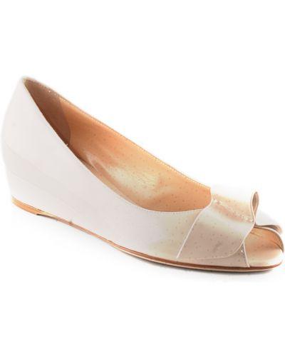 Кожаные туфли - бежевые Ballin