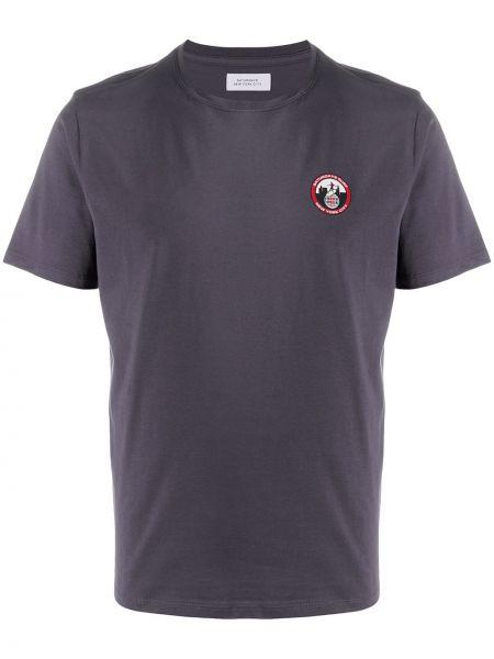 Koszula krótkie z krótkim rękawem z logo prosto Saturdays Nyc