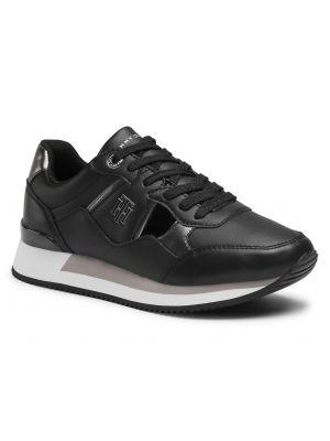 Czarne sneakersy miejskie Tommy Hilfiger