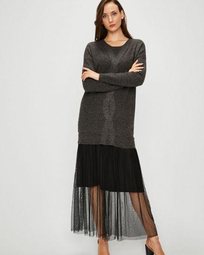 Платье миди свободного кроя трикотажное Silvian Heach