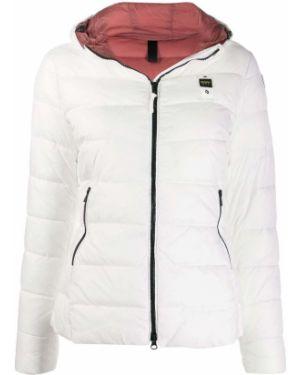 Куртка с капюшоном с вышивкой на молнии Blauer