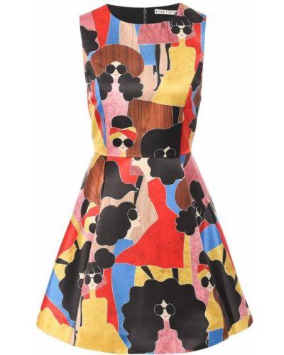 Платье мини приталенное с принтом Alice + Olivia