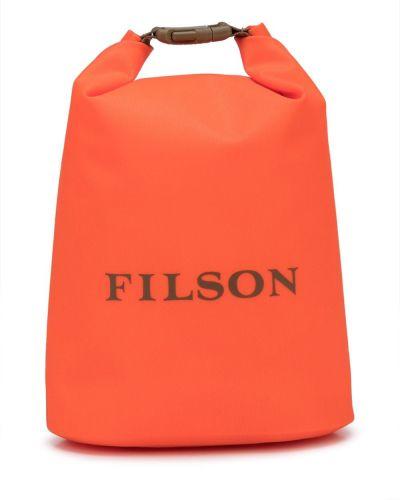 Pomarańczowa torba z nylonu Filson