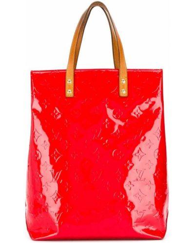 Красная сумка-тоут Louis Vuitton Pre-owned