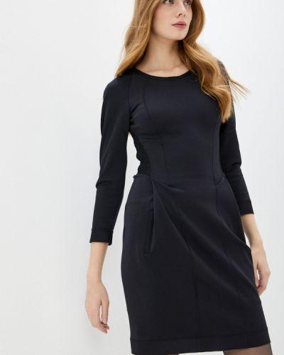 Черное платье-футляр High