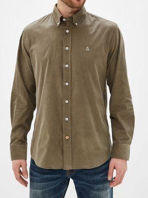 """Рубашка с длинным рукавом зеленый хаки """"el Caballo"""" Sevilla 1892"""