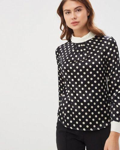 Блузка с длинным рукавом черная Lusio
