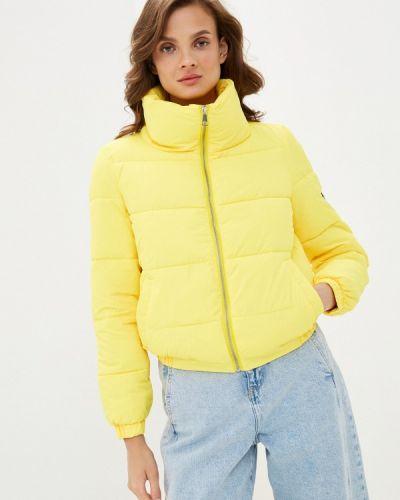 Теплая желтая куртка Fadjo
