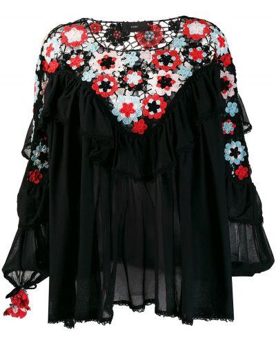 Блузка с длинным рукавом свободного кроя с принтом Alanui