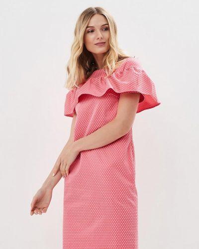 Платье весеннее розовое Aelite