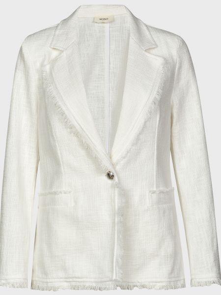Хлопковый пиджак - белый Vicolo