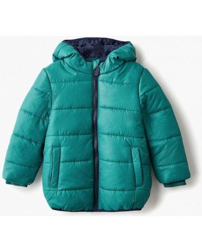 Куртка теплая зеленый Modis