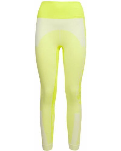 Rajstopy - żółte Adidas By Stella Mccartney