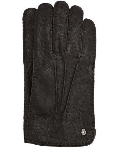Кожаные перчатки темно-коричневый Roeckl