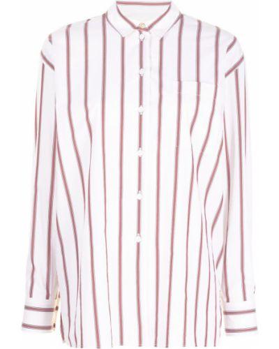 Белая длинная рубашка Paul Smith