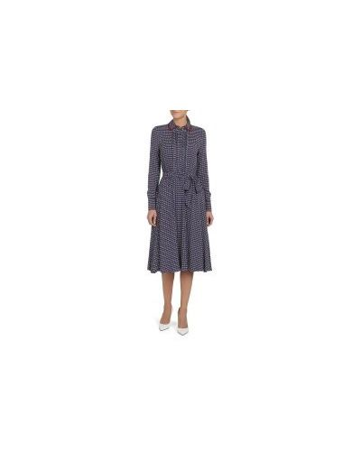 Платье синее темно-синий Tommy Hilfiger