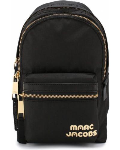 Рюкзак на молнии черный Marc Jacobs