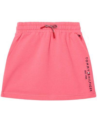 Różowa spódnica Tommy Hilfiger