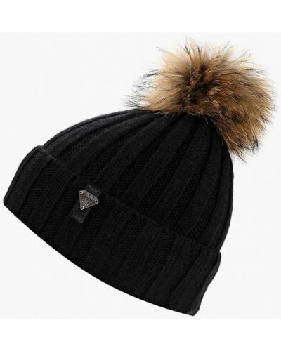 Черная шапка осенняя Ferz