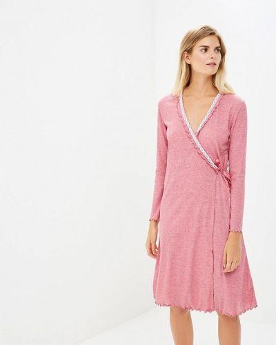 Розовый домашний халат Cootaiya