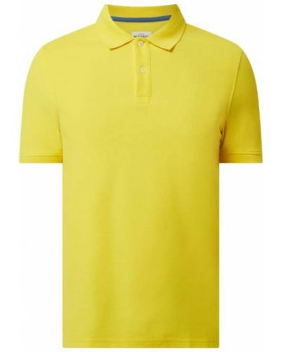 Żółty t-shirt bawełniany Montego