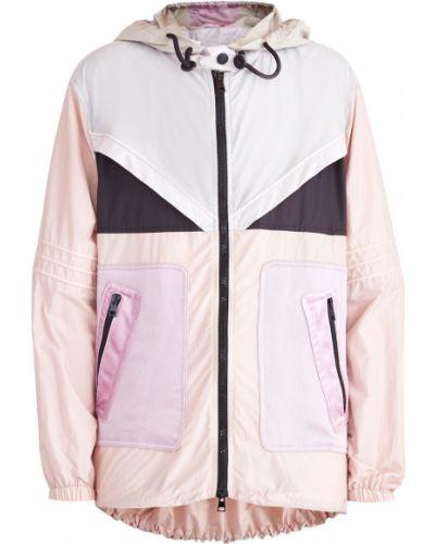 Куртка с капюшоном длинная на резинке Valentino
