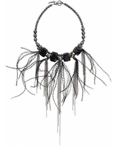 Ожерелье черное Fabiana Filippi