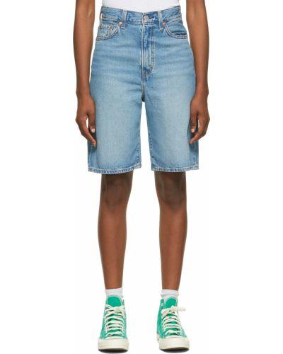 Джинсовые шорты - синие Levi's®