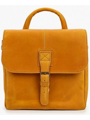 Оранжевая сумка через плечо летняя Duffy