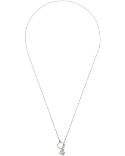 Серебряное ожерелье для полных Faris