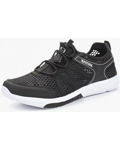 Черные кроссовки из искусственной кожи Patrol