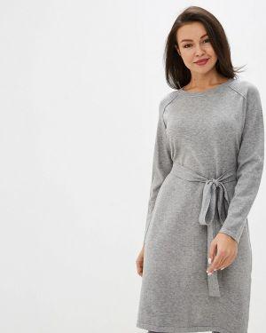 Платье серое прямое Trendyangel
