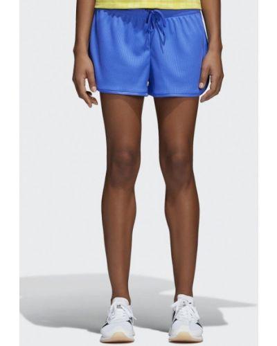 Синие спортивные шорты Adidas Originals