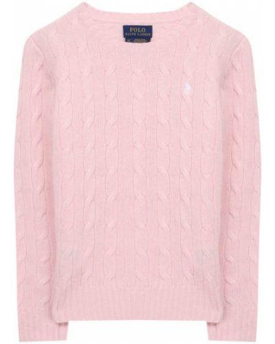 Свитер розовый шерстяной Ralph Lauren