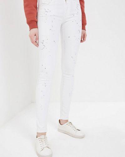 Белые джинсы-скинни Diesel