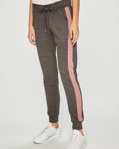 Серые брюки с карманами с нашивками Fresh Made