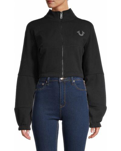Ватная длинная куртка с воротником с карманами True Religion