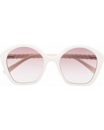 Białe okulary Chloé Kids